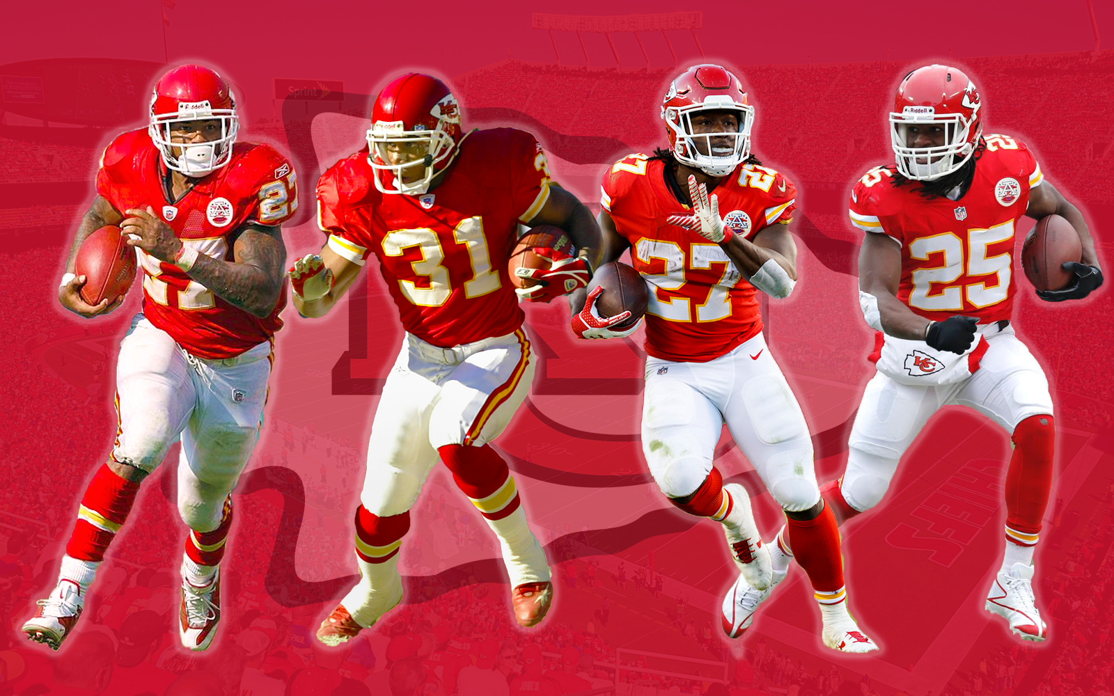 Great Kansas City Chiefs Running Backs | Priest Holmes Blogs & Press | Official Priest Holmes Website
